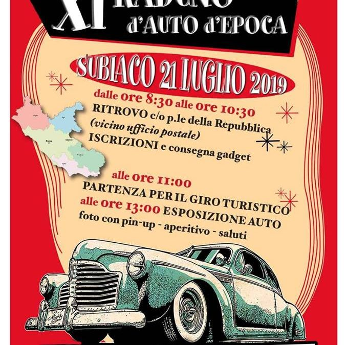 XI Raduno Auto D'epoca